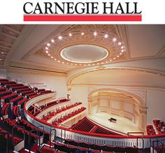 Carnegie Hal:    The Carnegie Hall is a concert venue constructed in 1891 by Andrew Carnegie. Its architecture was designed by William Burnet Tuthill. It is one of the most popular concert hall worldwide. The Carnegie Hall produces about 250 shows per season. The concert hall is open for leasing with other performing artists.