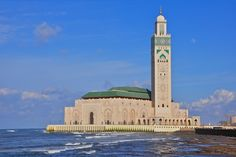 The Grand Mosque Hassan II is the shining Star Africa   It's on the coast of Casablanca. Take a tour if you still can.  Photo credit:  Richard Sharrocks