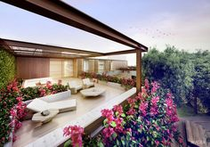 Mader - Terrace in Flamboyant House, Brazil