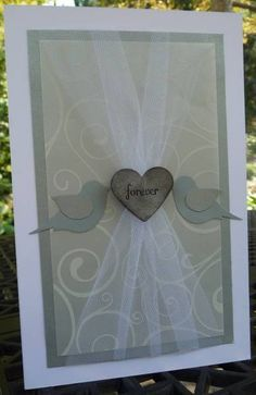 Work Wedding Love Birds by ccbooboo - Cards and Paper Crafts at Splitcoaststampers