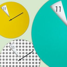Modern clocks by Sabrina Fossi
