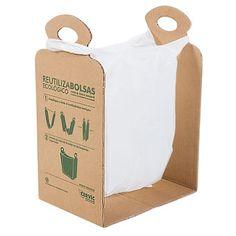Reutilizabolsas ecológico - Kits ecológicos / Reciclar en casa es fácil - TRANSFORMA HOGAR