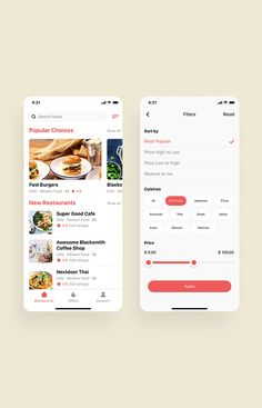 Happy Meals Food Delivery App UI Kit is a pack of delicate UI design screen templates that will help you to design clear interfaces for food delivery app faster and easier. Compatible with Sketch App, Figma & Adobe XD Ui Design Mobile, App Ui Design, Android Design, App Login, Delivery App, App Design Inspiration, Mobile App Ui, Ui Elements, Ui Kit