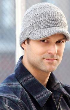 Streetwise Brim Hat Crochet Pattern