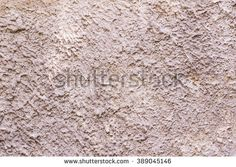 Rough plastering surface on wall can be used as background - stock photo