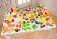 Deluxe Tasty Treats Pretend Play Food Set
