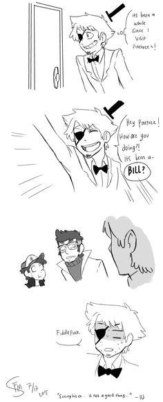 Okay.. Its Bill Meets Stan... Ford by FloatingMegane-san.deviantart.com on @DeviantArt