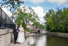 41 Wedding Bride Groom Naperville Riverwalk