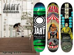 JART Skateboards - jaro 2015!