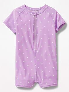 NWT BABY GAP GIRLS SWIMSUIT SWIM hearts rashguard top shirt  3T 3