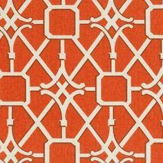 'Network' lattice pattern by Waverly, 100% cotton.