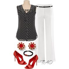 """Scott Kay   www.goldcasters.com   """"Red Shoes"""" by tishaod on Polyvore"""