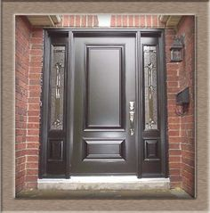 single front doors with sidelightes - Google Search
