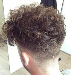 curly undercut hairstyle