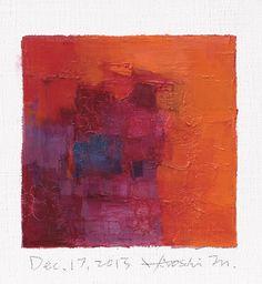 Dec. 17 2013  Original Abstract Oil Painting  by hiroshimatsumoto, $60.00