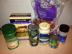 Wishes do come true...: Chicken Asparagus Alfredo easy recipe Aldi recipes