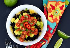 Mexican Bowl over Spaghetti Squash is a quick and easy plant-based and Paleo diet friendly recipe.