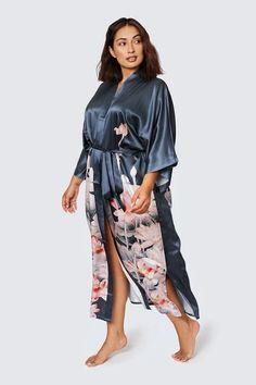 Plus Size Kimono Dress, Dress Up, Kimono Cardigan, Kimono Jacket, Plus Size Robes, Long Kimono, Floral Kimono, Lounge Wear, Going Out
