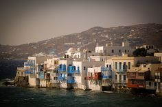Little Venice - Mykonos Island Greece Mykonos Island Greece, Hercules, Venice, Paradise, Travel, Greece, Viajes, Venice Italy, Destinations
