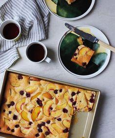 Peach & raspberry tray cake - Winter Warmers - Collections  - Marimekko.com