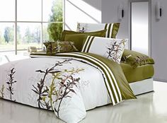 Shop New Season Tex Autumn Leave Green Duvet Cover Set at Lowe's Canada. Find our selection of duvet covers at the lowest price guaranteed with price match. Twin Bed Sets, Home, Single Bed Frame, Bed Linens Luxury, Home Deco, Luxury Bedding Sets, Bed, Duvet Cover Sets, Luxury Bedding