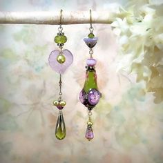 Hey, I found this really awesome Etsy listing at https://www.etsy.com/ru/listing/186515021/in-the-garden-lavender-purple-earrings