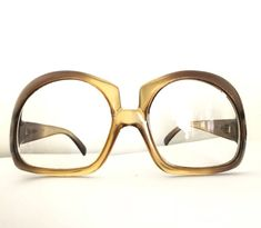17540ed065 Big Christian Dior Honey Amber Eyeglasses   Frame MOD CD Bubble Sunglasses    Sale by BibbysRocket