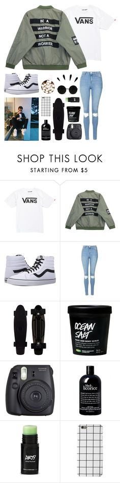 """""""-`, day two"""" by krecioch ❤ liked on Polyvore featuring Vans, Chicnova Fashion, Topshop, Fuji, philosophy, Old Navy, setchallenge, CasualDate, whydontwe and jonahmarais"""