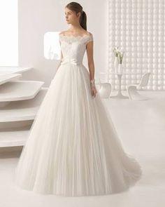 9dd4eab22d Resultado de imagen para vestidos de novias con rosas Vestidos De Novia  Largos