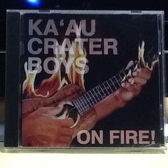 Rare Hawaiian Music CD: On Fire by Ka'au Crater Boys (CD, Mar-1997, MVM) GREAT! #HawaiiPacificIslands