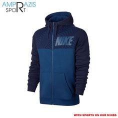 Nike Sportswear Hoodie (Blue)