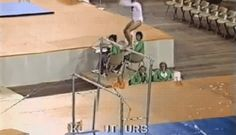 The Korbut flip - a gymnastics move so awesome that it was banned - Imgur
