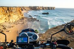 4 Reasons not to visit Portugal - via Piki-Piki 11.05.2015 | For a tiny country 900 years old and only measuring 1200km coastline by about 200km, Portugal packs a massive punch; for mind altering overland experience, a colourful crazy history, and house music loud extrovert fun people. Our initial plan – to rip up this country in a short 2 weeks travelling the coastline – ended up very close to a month crisscrossing the entire country. #portugal #motorcycle #travel #tips Photo: Massive…