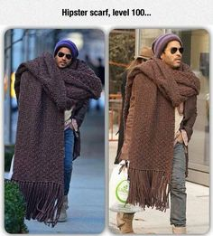 That's Not A Scarf, It's A Throw Rug
