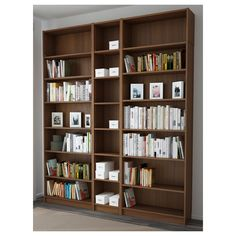 IKEA   BILLY Bookcase Brown Ash Veneer