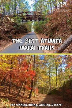 The Best Atlanta Trails For Running (& More - Hiking Bike Trails, Hiking Trails, Biking, Solo Travel, Travel Usa, Canada Travel, Piedmont Park, All I Ever Wanted, Best Hikes