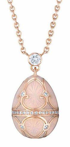 Fabergé Tsarskoye Selo egg pendant.