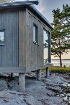 Modulbyggt sommarhus #sommarhus #fritidshus #naturmaterial #skandinaviskdeisgn #skandinaviskarkitektur