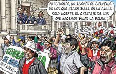 Visto en www.larepublica.pe  Enviado por a_cecivd Ecards, Comic Books, Politics, Baseball Cards, Comics, Memes, Cover, Architecture, Presidents