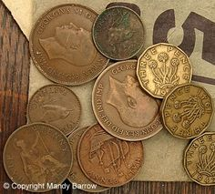 Just prior to decimalisation in the circulating British coins were the half crown two shillings or florin shilling sixpence threepence penny and halfpenny (½d).The farthing (¼d) had been withdrawn in Where To Buy Gold, Legal Tender, Old Money, Thing 1, My Childhood Memories, British History, Uk History, Rare Coins, My Memory