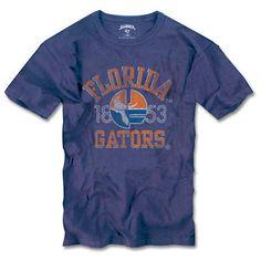 Florida Gators '47 Brand Vintage 'Gator Over Florida' Scrum Tee