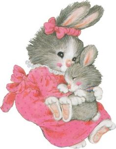 .mima's bunny and anak's bunny...............love you my bunny.....<3