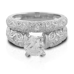 Gothic Wedding Bands | Antique Wedding Rings, Incomparable Choice for Gothic Wedding Ring ...