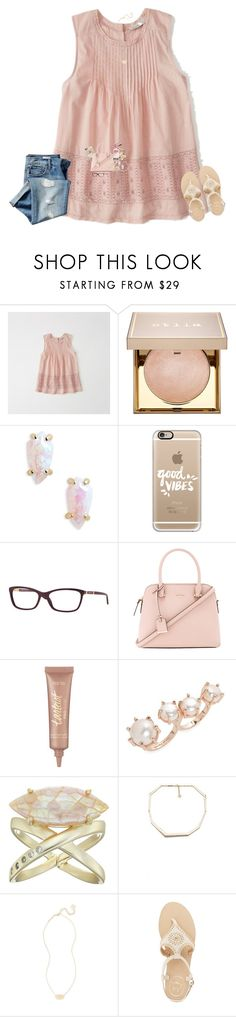 """Do You Ever Look Back At Old Sets And Just Cringe?"" by bowbeauty01 ❤ liked on Polyvore featuring Abercrombie & Fitch, Stila, Kendra Scott, Casetify, Versace, Kate Spade, Too Faced Cosmetics, tarte, Jack Rogers and Gap"