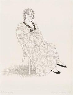 David Hockney, Celia, 1969