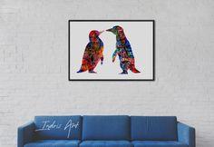 Penguin Wall Art, Gifts, Inspiration, Tattoos, Home Decor, Biblical Inspiration, Presents, Tatuajes, Decoration Home