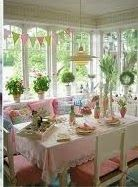 Easter Wedding: Wedding Reception Decorating Ideas-  - - Easter Wedding Table Schemes