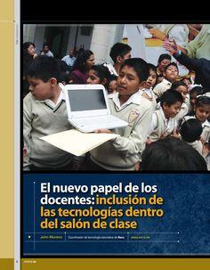 El nuevo papel de los docentes: inclusión de las tecnologías dentro del salón de clase