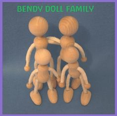 Hey, I found this really awesome Etsy listing at http://www.etsy.com/listing/129217510/bendy-doll-family-dollhouse-doll-base