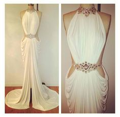 Stunning reception dress